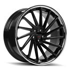 20 GIOVANNA SPIRA FF BLACK CONCAVE WHEELS RIMS FITS LEXUS GS350 GS450H GS460