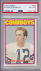 ROGER STAUBACH 1972 Topps #200 ROOKIE CARD Graded PSA 6 EX-MT