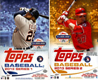 2013 Topps Series 1 & 2 Baseball Sealed Hobby BOX LOT Rookie Relic Auto Card RC