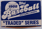 VINTAGE 80S 1988 TOPPS TRADED BASEBALL COMPLETE FACTORY CARD SET 132 ROOKIE RC