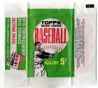 1962 TOPPS 5 CENT BASEBALL WAX PACK WRAPPER GREAT SHAPE RARE VINTAGE 1960S