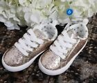 Carters Girls Emilia Casual Sneaker Gold 6 M US Toddler NWT