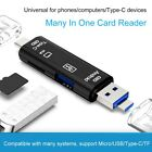 For SnartPhone Macbook notebook Type C/USB/Micro USB/TF OTG Card Reader Adapter