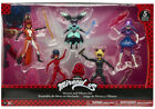 Miraculous 5 Figures Pack Ladybug Cat Noir Stormy Weather Volpina Puppeteer Set