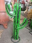 MEXICAN METAL ART TALL CACTUS H FREE FREIGHT