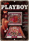 Bally Pinball Machine Ad Playboy Bunny Ad 10