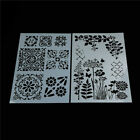 flower layering stencils for walls painting scrapbooking stamp album decor