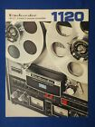 Dokorder 1120 Reel To Reel Brochure Catalog Original The Real Thing