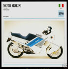 1990 Moto Morini Dart 350cc (390cc) 400 Italy Motorcycle Photo Spec Info Card