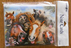 8 Leanin Tree Note Cards LOTS OF HORSES SMILING MAKING FACES SELFIES