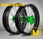 KAWASAKI SUPERMOTO WHEEL FOR KX125 KX250 KX250F KX450F ANY COLOR ON RIM/HUB SET