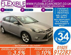 2012 FORD FOCUS 16 ZETEC AUTO GOOD BAD CREDIT CAR FINANCE FROM 34 P WK