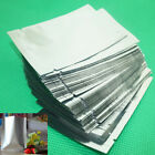 100pcs Foil Pouch Heat Seal Mylar Smell Proof Bags Storage Bag Various Sizes