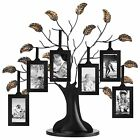 Bronze Family Tree Frame with 6 Hanging Picture Frames Each Sized 2 x 3