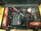 Metabo 18v Drill With Three  2.6 ah Batteries, Charger And Case