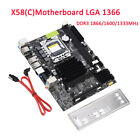 Premium X58 C LGA1366 Socket ECC DDR3 1866 1600 1333MHz Motherboard For Intel CO