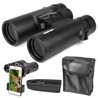 10x42 Zoom Binoculars Outdoor Travel HD DayNight Vision Hunting Telescope Pro