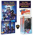 Bill & Ted's Excellent Adventure Blu ray & RUFUS Figure & Poster Shout Factory