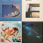 DIRE STRAITS 4 LP RECORD LOT NM SHRINK BROTHERS IN ARMS LOVE OVER GOLD ALCHEMY