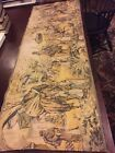 Large Tapestry With Middle Eastern Scene Made In Belgium. camels, horse,