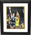 Bill Walton signed Boston Celtics 16x20 Photo HOF 93 Custom Framed -MAB HOLOGRAM