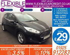 2013 FORD FIESTA 125 ZETEC GOOD BAD CREDIT CAR FINANCE FROM 29 P WK