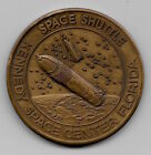 NASA NEW ERA OF SPACE EXPLORATION KENNEDY SPACE CENTER ANTIQUE BRONZE COIN