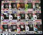 LOT Of 15 Funko Pop Disney Nightmare Before Christmas w Exclusives *Box Damage*