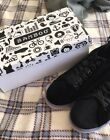 Bamboo Womens Size 10 Black Velvet Lace Up Sneakers NEW Free Shipping