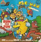 PAC MAN 1980 See Hear Read RUN FOR FUN Book KSR-995 Record not Included