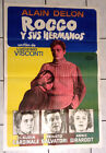 ROCCO AND HIS BROTHERS Orig 1960 Alain Delon Cardinale Visconti Arg Poster