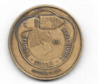 NASA PROJECT APOLLO VII OCTOBER 11 1968 ANTIQUE BRONZE COMMEMORATIVE MINTED COIN