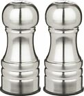 Trudeau Maison 45 inch Salt and Pepper Shakers Stainless Steel