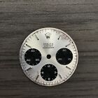 1970's Vintage Rolex Daytona 6263 6265 Silver Sigma Dial Oyster Cosmograph