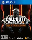 Used PS4 Call of Duty Black Ops III Game of the Year Edition Japan Import