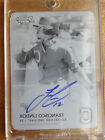 2015 Bowman's Best of FRANCISCO LINDOR RC Autograph Printing Plate 1 1 Black