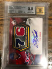 2010-11 SP Game Used PK Subban SIGNIFICANT Numbers Jersey Auto 27 76 BGS 8.5 RC