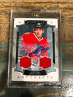 2015-16 UD Artifacts Artemi Panarin Rookie Auto Dual Jersey Patch 69 125 Chicago