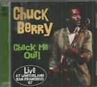 CHUCK BERRY CD - CHECK ME OUT! LIVE SAN FRANCISCO 67  Brand New  on Crying Steel