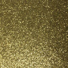 Set of 12 Gold Glitter Sparkle Card Stock Cardstock 85 x 11 NEW Free Shipping