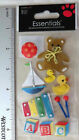 Sandylion Essentials BABY TOYS Package of Dimensional Stickers