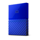 WD My Passport 1TB Blue Manufacturer Refurbished Portable Hard Drive by Weste