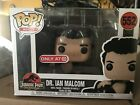 Funko Pop Jurassic Park Dr. Ian Malcolm Wounded Target exclusive mint