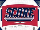 2018 Panini Score Football Factory Sealed Hobby Box