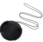 Photography - Universal Type - 62mm - Lens Cap for Camrea - Black - New