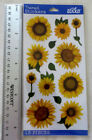 Sticko SUNFLOWER VELLUM Package With Sunflower Stickers