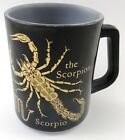 Federal Zodiac Scorpio Coffee Cup Mug Vintage Heat Proof Astrology Horoscope