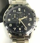 *Used* VICTORINOX Chrono Classic XLS Blue Dial Men's Watch 241652