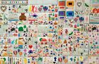Huge lot 133 Sheets Mrs Grossmans SCRAPBOOKING STICKERS most retired RARE