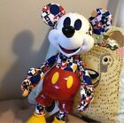 Disney 2018 Bold  Bright Mickey Mouse Memories March Limited Edition Plush